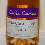 2014 Beaujolais Rosé 'Cuvee Caroline'