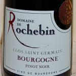 2015 Bourgogne Rouge 'Clos St Germain'