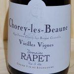 2015 Chorey Les Beaune  VV