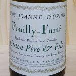 2015 Pouilly Fumé 'Joanne d'Orion'