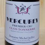 2015 Mercurey 'Clos Tonnerre' 1er Cru