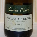 2016 Beaujolais Blanc 'Cuvée Alexis'