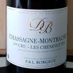 2017 Chassagne Montrachet 'Les Chenevottes' 1er Cru