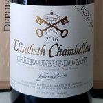 2016 Châteauneuf Du Pape 'Elisabeth Chambellan'  VV