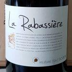 2016 La Rabassiere Rouge