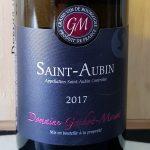 2017 Saint Aubin