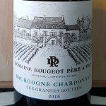 2015 Bourgogne Blanc 'Les Grandes Gouttes'