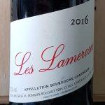 2016 Bourgogne Rouge 'Les Lameroses'