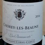 2016 Chorey Les Beaune