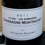 2011 Chassagne Montrachet 'Les Embrazees' 1er Cru